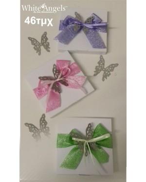 SK14 πεταλούδες glitter κορδέλα