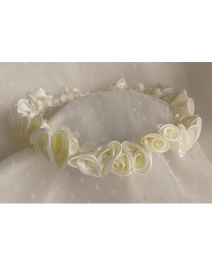 ST1 satin ivory rose